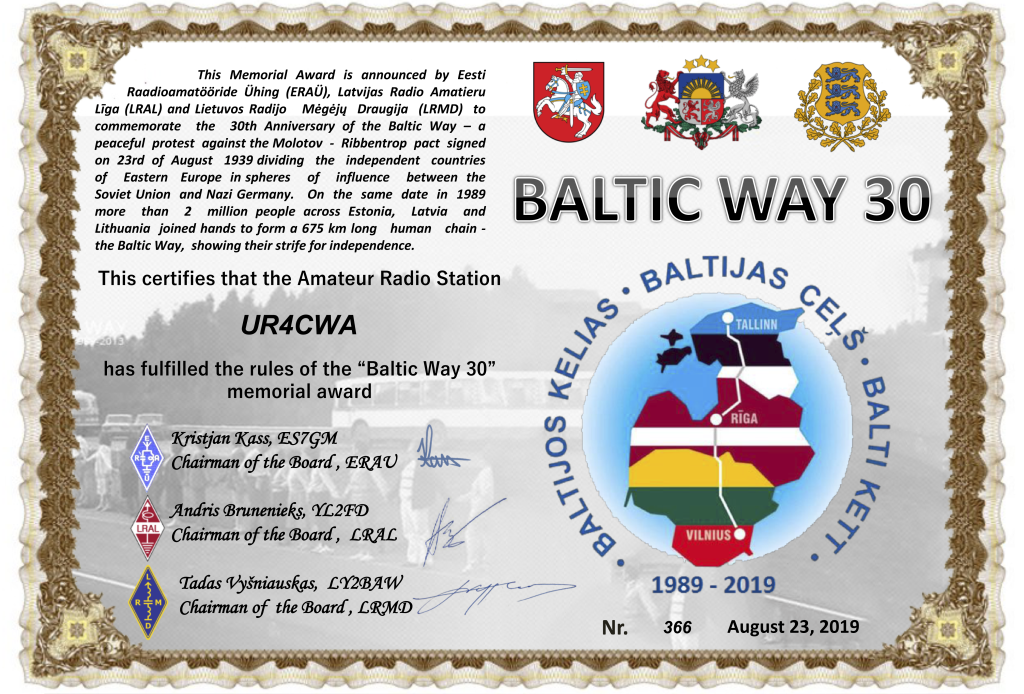 BalticWay30Award-UR4CWA-366